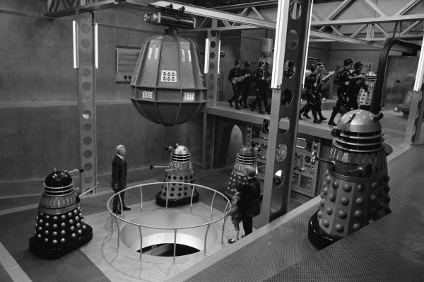 Inside the Daleks' spaceship with Peter Cushing