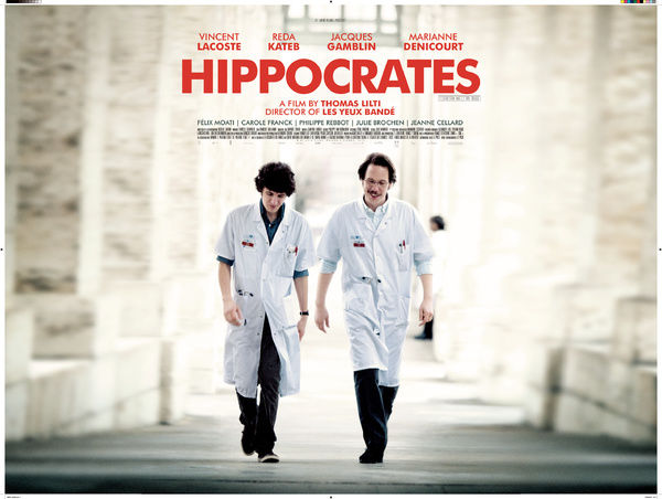 Hippocrates - Diary of a French Doctor UK Quad artwork