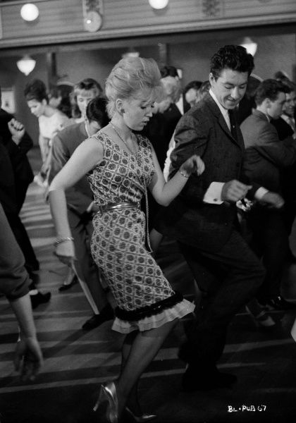 Gwendolyn Watts and George Innes dance together in John Schlesinger's Billy Liar