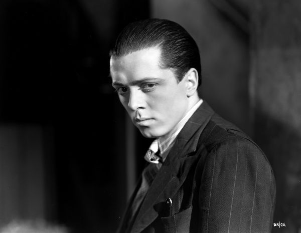 An intense portrait of Richard Attenborough as teenage gangster Pinkie from John Boulting's 'Brighton Rock' (1947) based on Graham Greene's novel