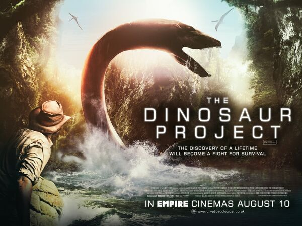 The Dinosaur Project UK Quad Poster
