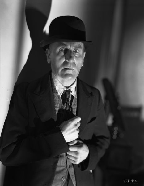 Wylie Watson as Spicer in John Boulting's Brighton Rock (1947)