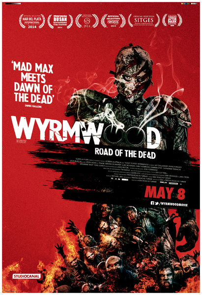 UK Theatrical One Sheet for Wyrmwood: Road of the Dead (2014)