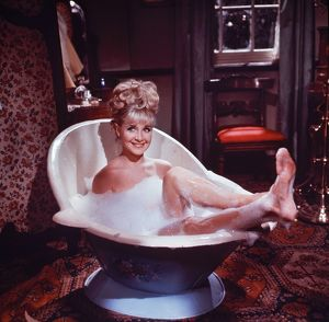 Angela Douglas in Carry On Cowboy