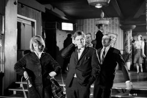 A group shot from dance hall scene in Billy Liar (1963)