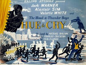 Hue and Cry UK theatrical quad