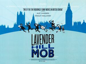 Lavender Hill Mob re-issue quad poster