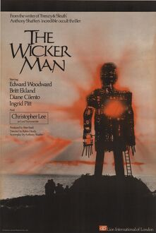 The Wicker Man (1973) UK One Sheet poster