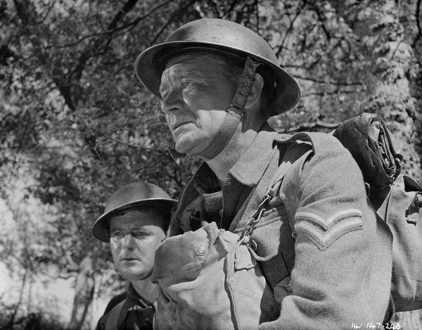 As corporal Tubby Bins in Dunkirk (1958)