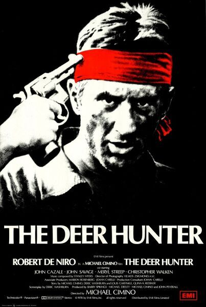 The Deer Hunter. UK theatrical poster