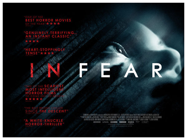 In fear UK Quad Artwork