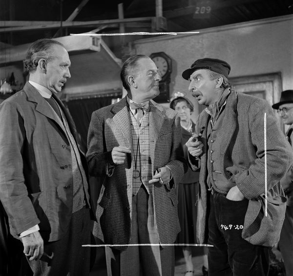 George Relph, Stanley Holloway and Hugh Griffith