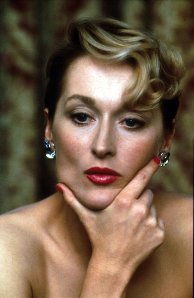 A portrait of Meryl Streep taken to promote the UK release of Plenty (1985)