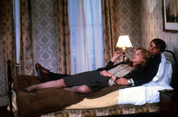 Meryl Streep and Sam Neill in PLENTY (1985) directed by Fred Schepisi in 1985