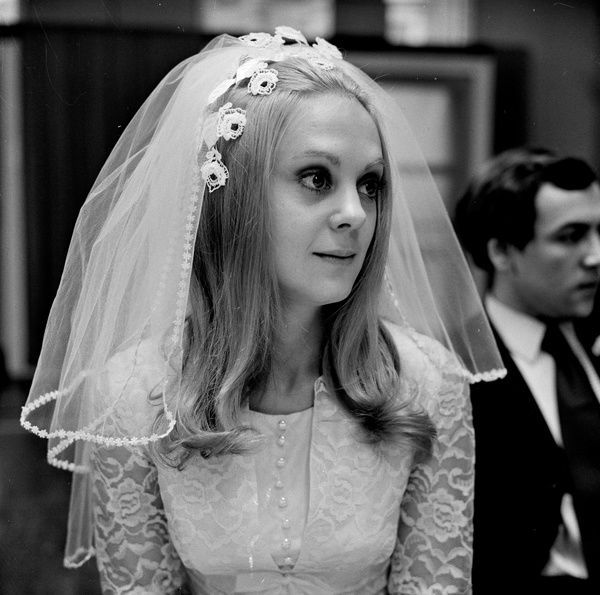 Rosalind Ayres as Jeanette in the wedding sequence from That'll be the Day (1973)