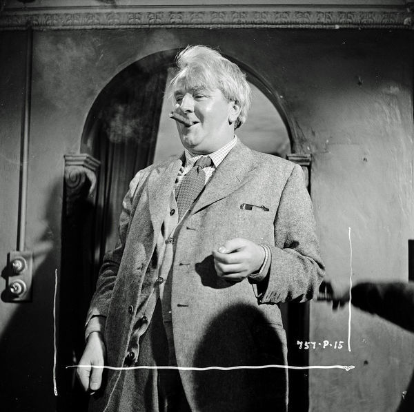 Joseph Tomelty as Mr. Pedelty in Meet Mr. Lucifer (1953)