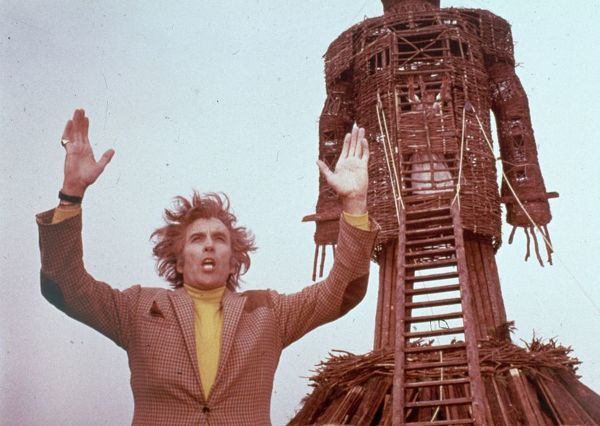 A Scene from The Wicker Man (1973)