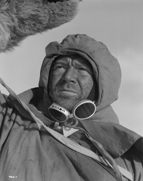 in Charles Frend's film about the fatal expedition to the South Pole, released in 1948