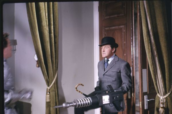 Steed to the rescue. in the episode From Venus With Love Series 5