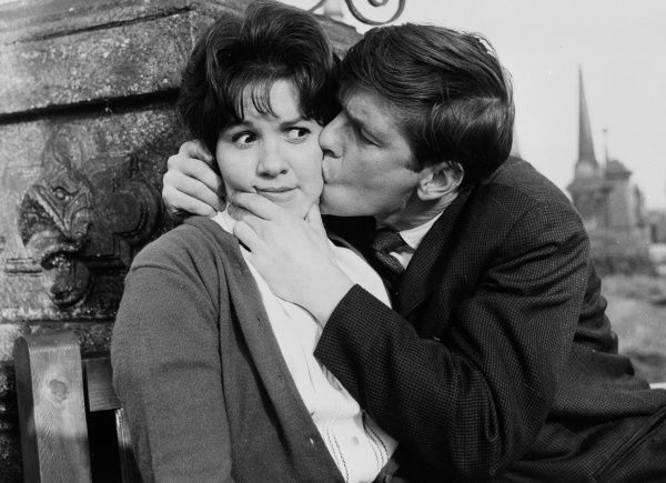 Tom Courtenay as Billy Fisher courts Helen Fraser as Barbara in a sequence from Billy Liar directed by John Schlesinger