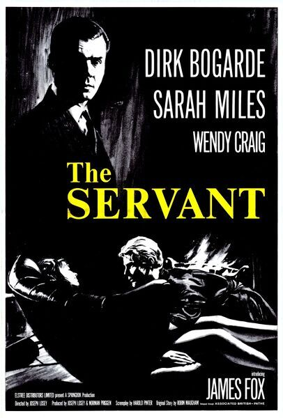 UK one sheet poster for The Servant (1963)