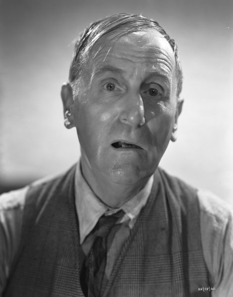 Wylie Watson as Spicer in a promotional portrait for the release of John Boulting's Brighton Rock (1947)