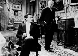 Alastair Sim and Brian Worth in An Inspector Calls (1954)