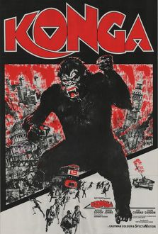 Alternative Konga UK one sheet