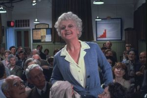 Angela Lansbury as Miss Marple in The Mirror Crack'd (1980)