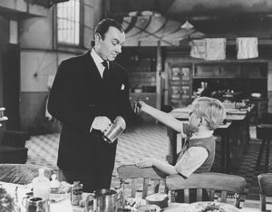 Baines and Philippe in a scene from The Fallen Idol (1948)
