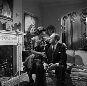 Bernard Lee and Maxine Audley