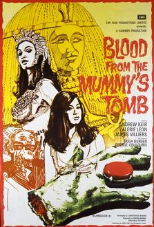 <b>BLOOD FROM THE MUMMY'S TOMB (1971)</b><br>Selection of 6 items