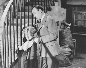 Bobby Henrey as Philippe and Ralph Richardson as Baines in The Fallen Idol (1948)