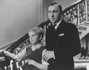 Bobby Henrey and Ralph Richardson in The Fallen Idol (1948)