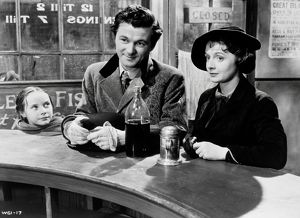 bryan forbes and jane wenham in a scene