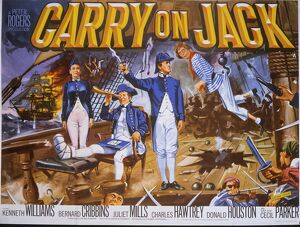 Carry On Jack theatrical Poster (original)