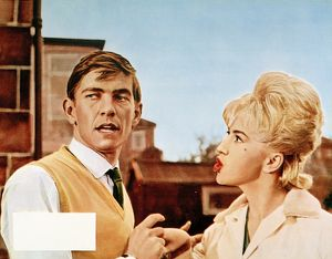 A colour still image from Billy Liar (1963)