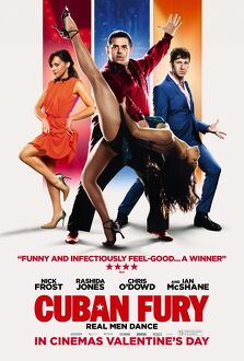 Cuban Fury Main UK One Sheet poster