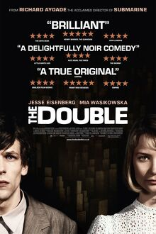 The Double (2013) UK theatrical poster