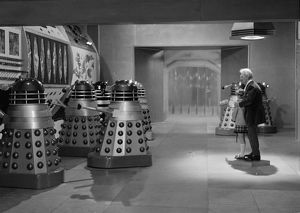 Dr Who faces The Daleks