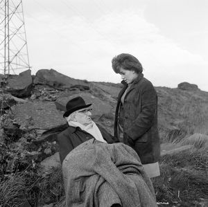 Finlay Currie and Helen Fraser in Billy Liar (1963)