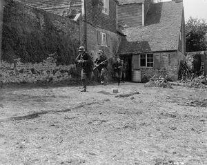 German Soldiers in the French Countryside