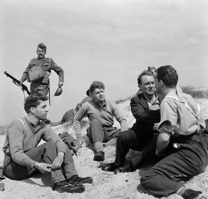 A group scene from Dunkirk (1958)