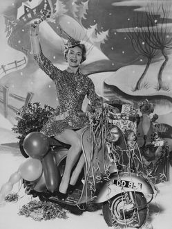 Happy New Year Greetings still image taken at Elstree Studios