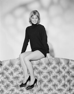 Julie Christie in a promotional portrait from Billy Liar (1963)