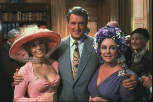 Kim Novak, Rock Hudson and Elizabeth Taylor in The Mirror Crack'd (1980)