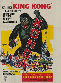 Konga UK one sheet