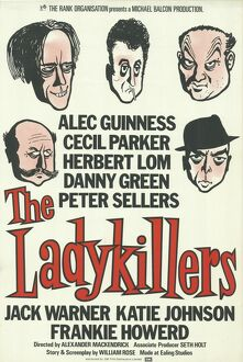 The LadyKillers re-issue poster