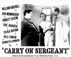 <b>CARRY ON SERGEANT (1958)</b><br>Selection of 40 items