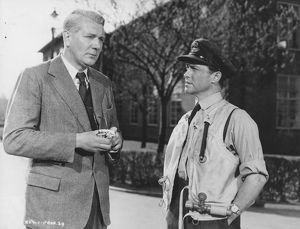 Michael Redgrave and Richard Todd